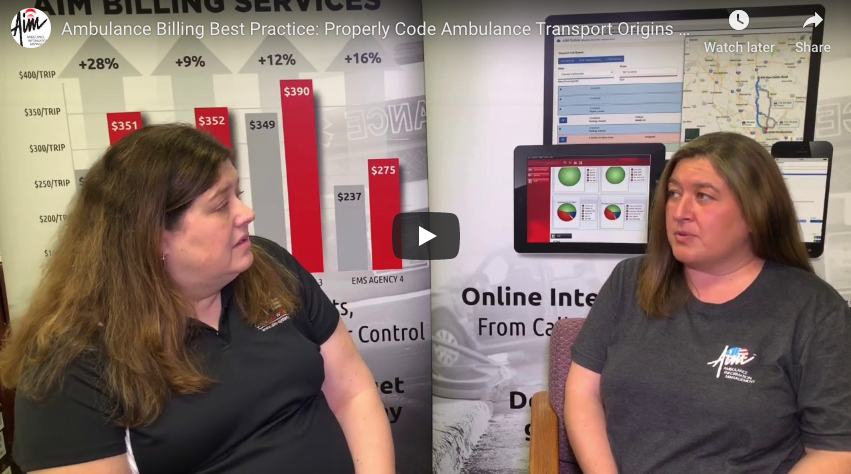 Ambulance Billing Best Practice: Properly Code Ambulance Transport Origins and Destinations