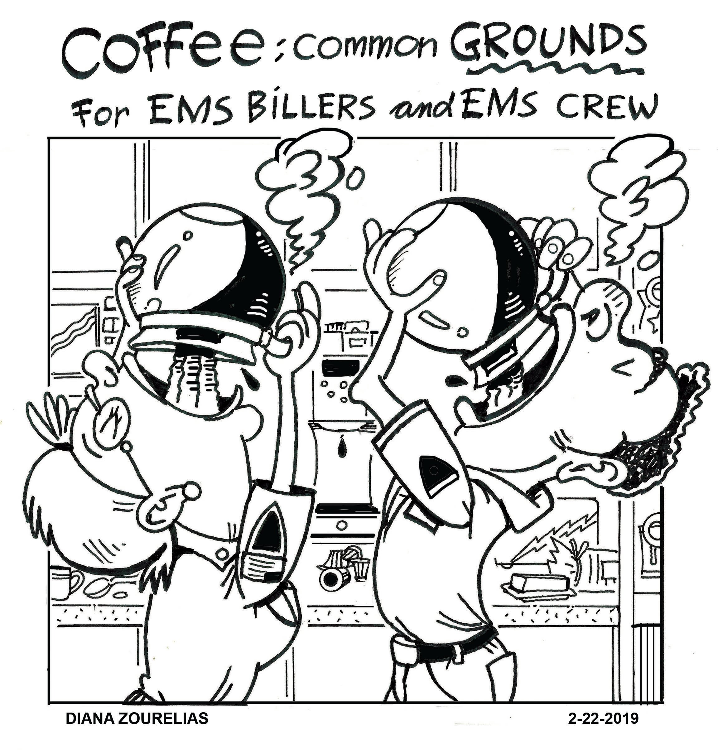 Coffee: Common Grounds for EMS Billers and EMS Crew