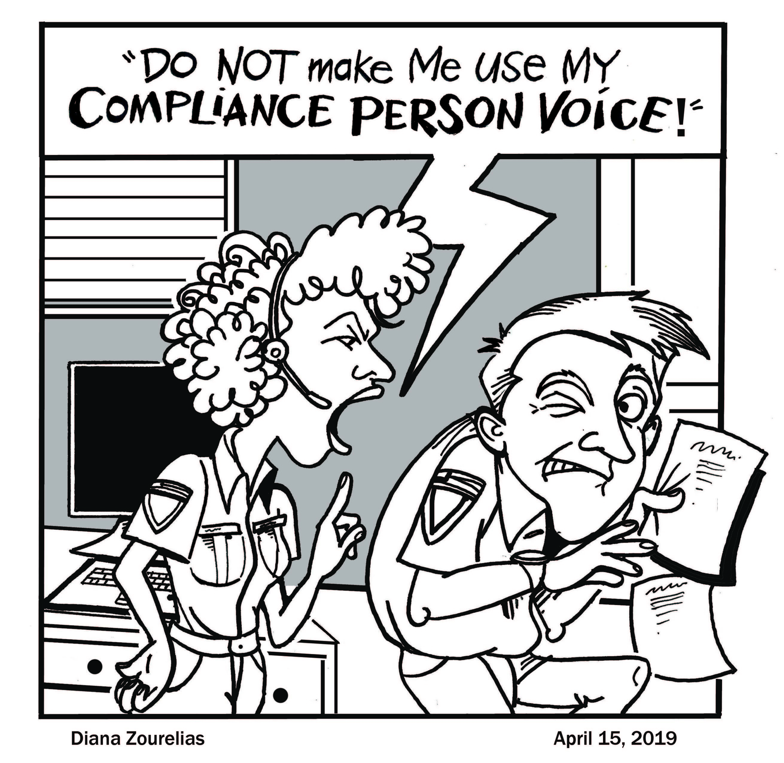 Beware of Compliance-Person Voice!