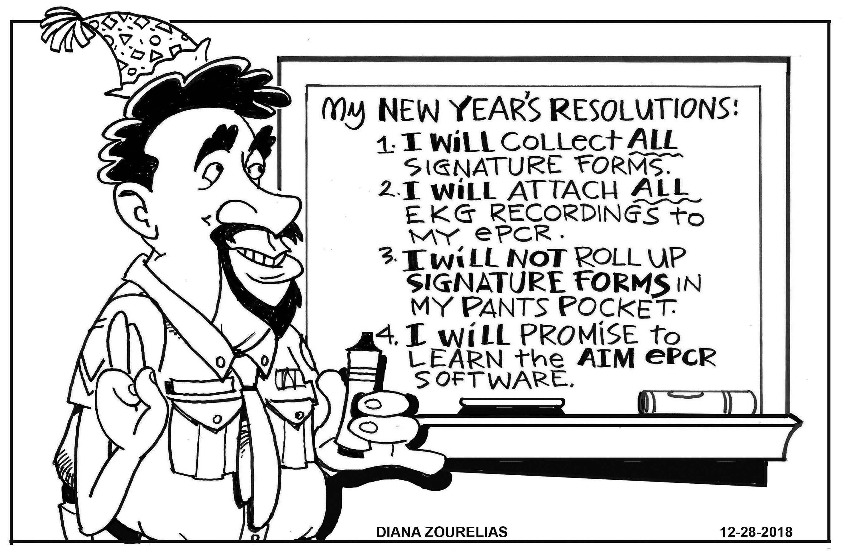 EMS New Year's Resolutions