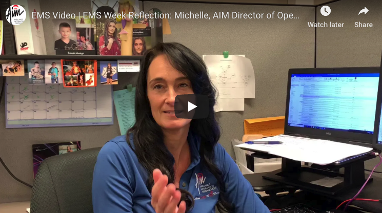 Reflecting on EMS Week 2019