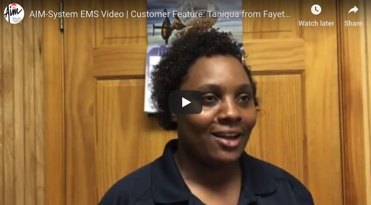 Featured EMS Hero: Taniqua from Fayette EMS