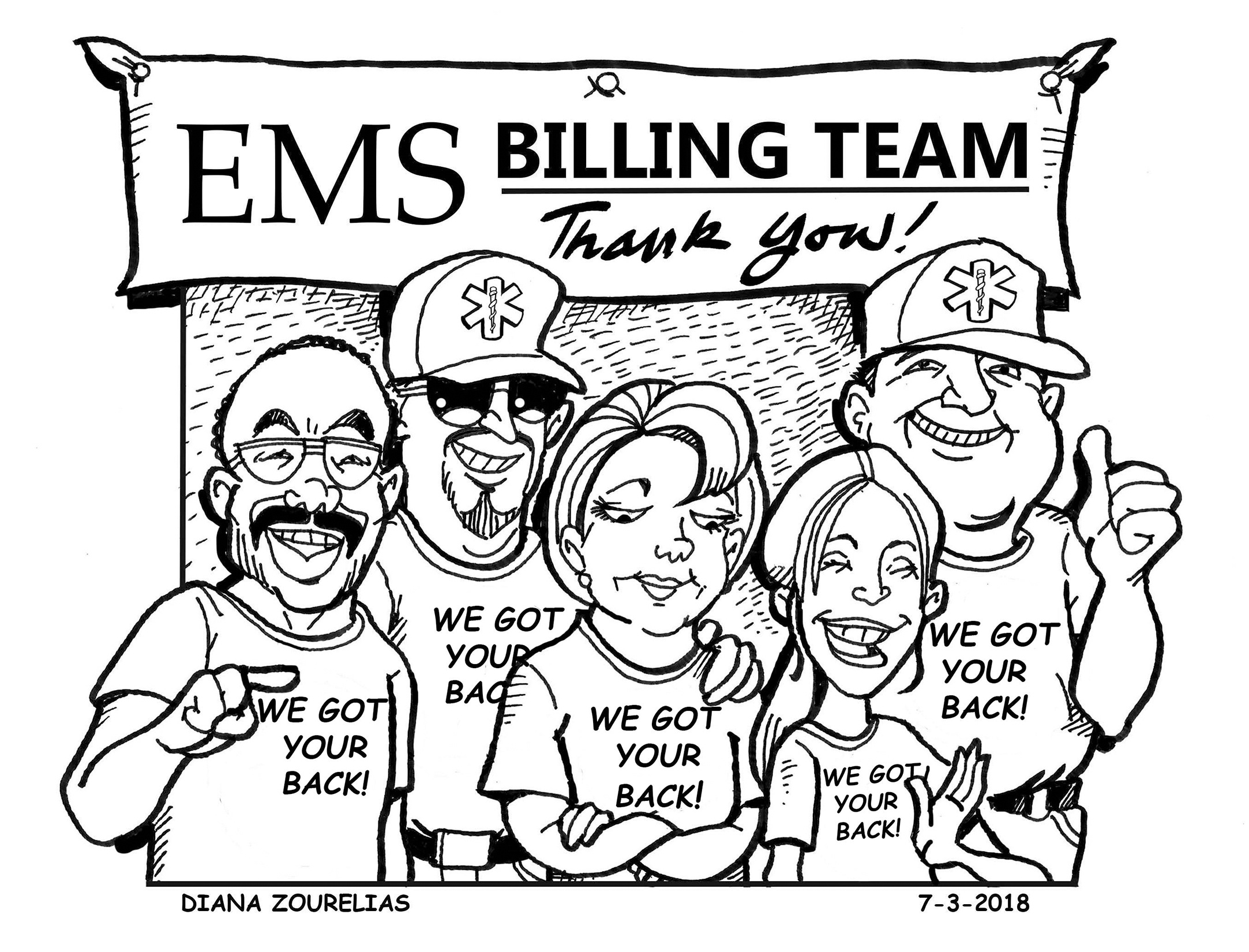 Thank You,  Ambulance Billing Professionals!
