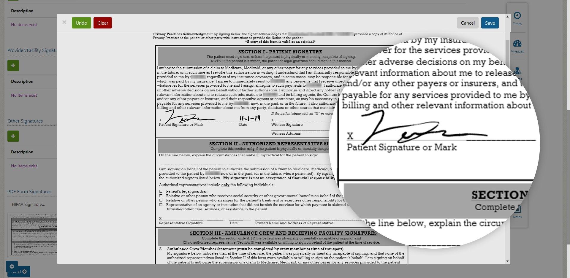 PDF Signatures